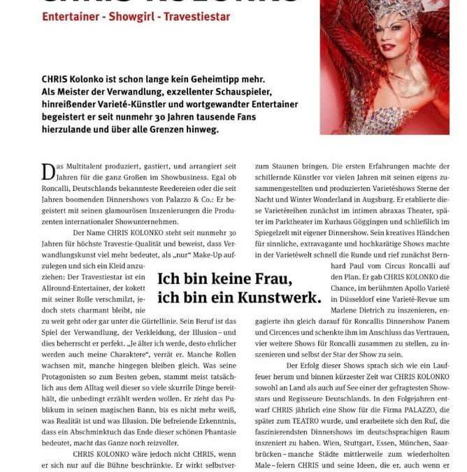 Die Presse in Saarbrücken wartet auf CHRIS Kolonko!