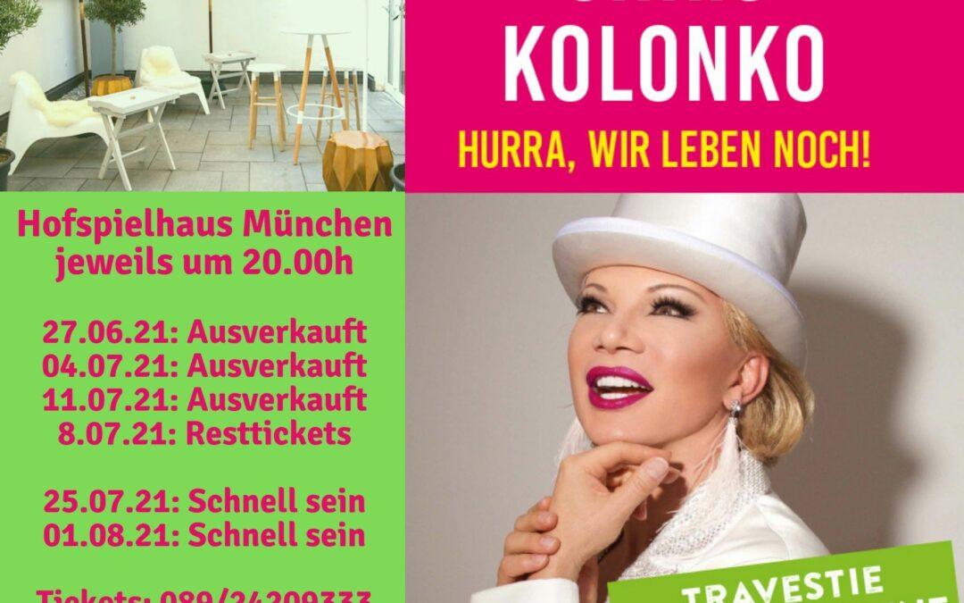"""Premiere mit """"Hurra, wir leben noch!"""" im Hofspielhaus erfolgreich gelaufen!"""